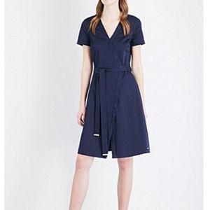 Ted Baker Advina Crossover Navy Dress
